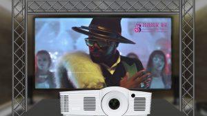 vidéo projecteur professionnel manu dj